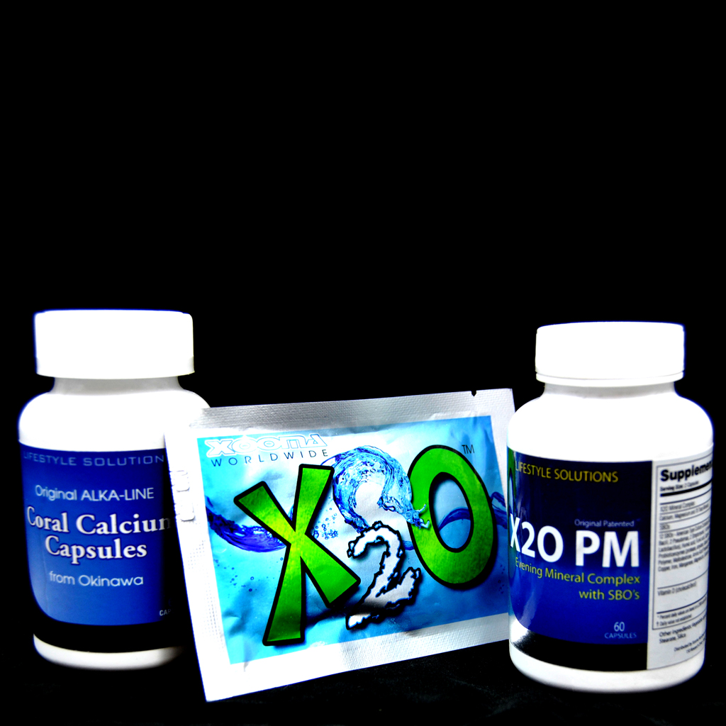 Xooma X2O coral calcium products